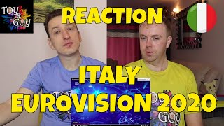 ITALY EUROVISION 2020 REACTION: Diodato - Fai rumore