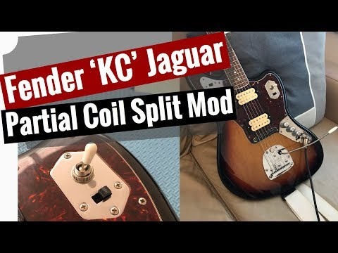 [FPWZ_2684]  Partial Coil Split Mod for the Fender Kurt Cobain Jaguar - YouTube | Kurt Cobain Fender Jaguar Wiring Diagram |  | YouTube