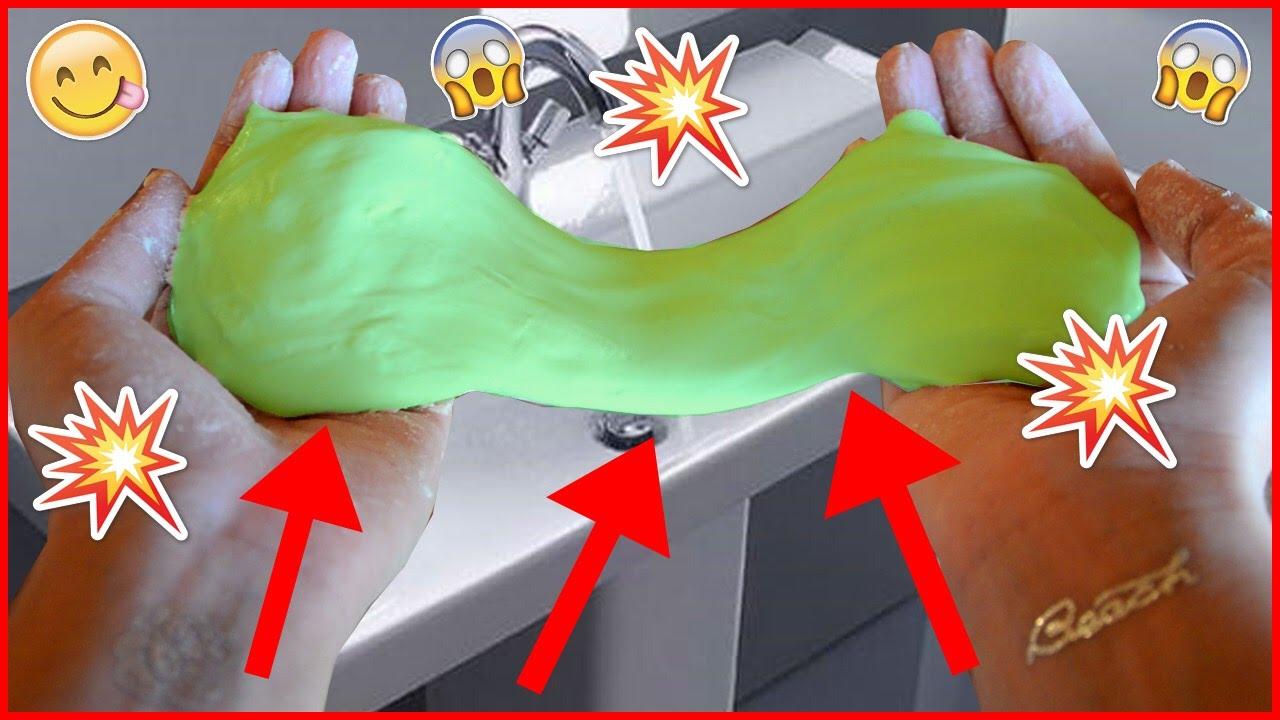 Как сделать лизуна в домашних условиях - лизун без