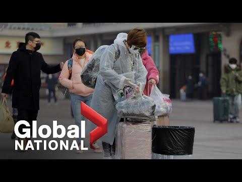 Global National: Feb. 18, 2020 | China's Lockdown Strategy May Be Slowing Coronavirus Spread