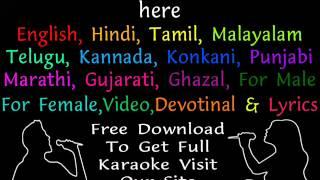 Woh Hai Zara Khafa   Shagird  Hindi Karaoke    HT