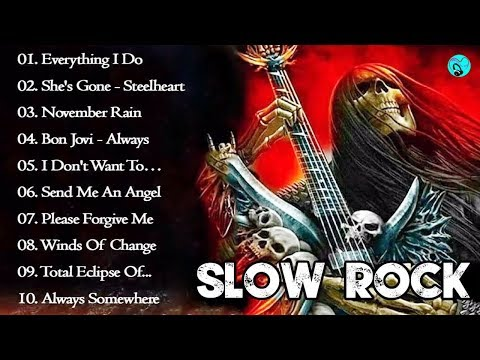 Best Slow Rock Love Songs Medley - Nonstop Slow Rock 80s 90s Playlist