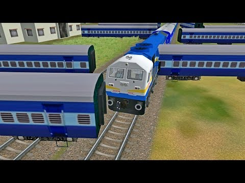 Kanpur Indore Patna Express accident in INDIAN TRAIN SIMULATOR