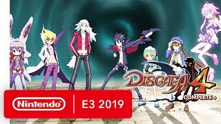 Disgaea 4 Complete+ - Nintendo Switch Trailer - Nintendo E3 2019