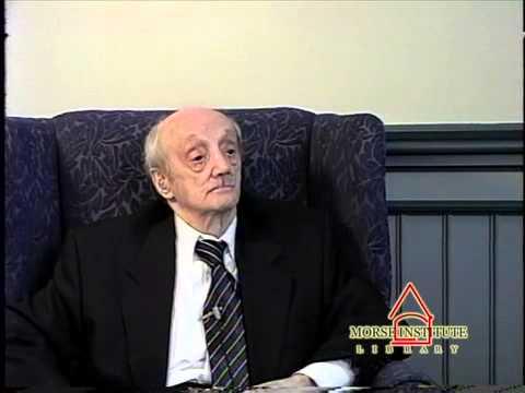 Shifres World War II veteran U.S. Air Force Natick Veterans Oral History Project