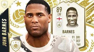 BARGAIN BEAST? 89 PRIME ICON BARNES PLAYER REVIEW! FIFA 20 Ultimate Team ICON SWAPS 2