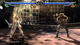 Soul Calibur V - Arcade - Elysium Playthrough