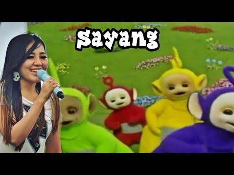 "VIA VALLEN feat TELETUBBIES Joged ""Sayang"" Parodi Terbaru"