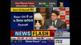 Prashant Ruia (Director, Essar) interview with Zee Business on Essar Oil Deal