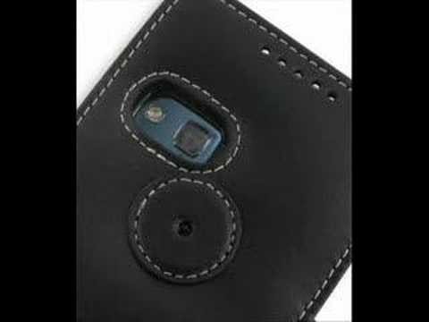 PDair Leather case for HTC P6500/HTC Sirius 100 - Book Black