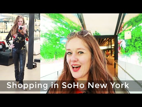 Where to shop in New York for women over 40 - shopping in SoHo New York