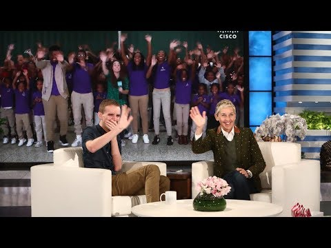 Ellen Surprises Inspiring Baltimore Teacher Mr. O