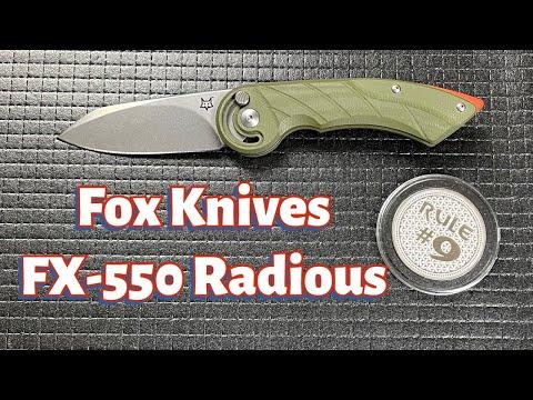Fox Knives FX-550 Radius Knife Review
