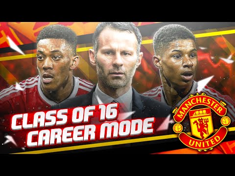 "FIFA 16 Manchester United ""Class of 16"" Career Mode EP 1: What If Ryan Giggs Took Over?"