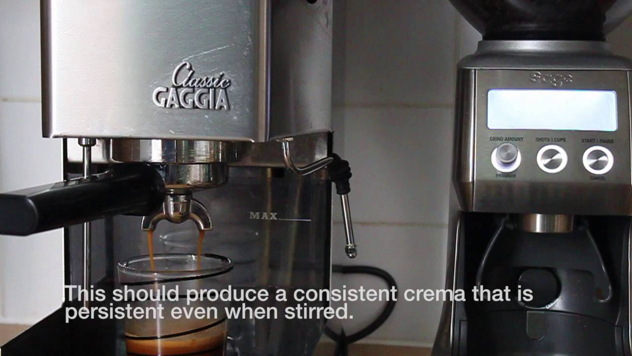 Gaggia MDF Coffee Grinder - YouTube