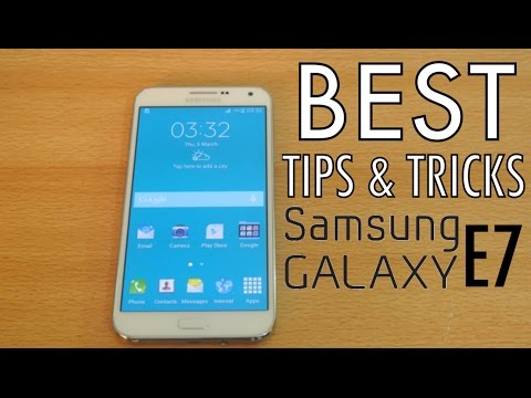 Samsung Galaxy E7 - Best Tips & Tricks HD