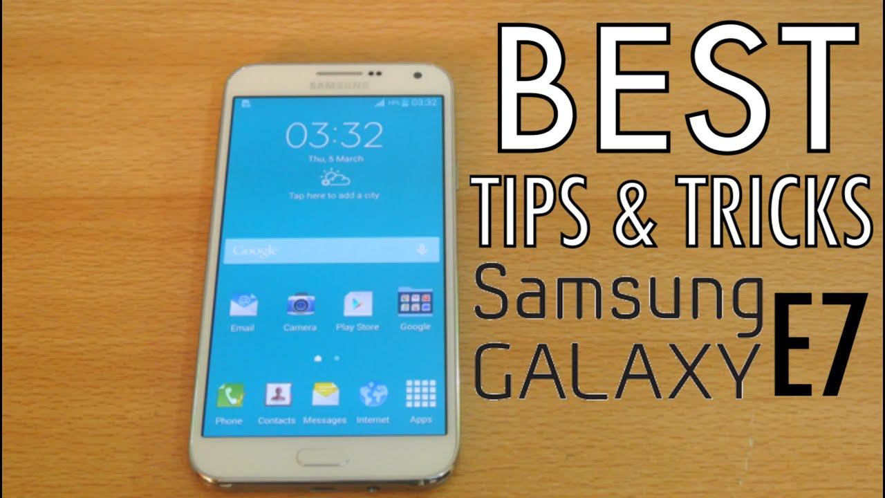 Samsung Galaxy E7 - Best Tips & Tricks HD