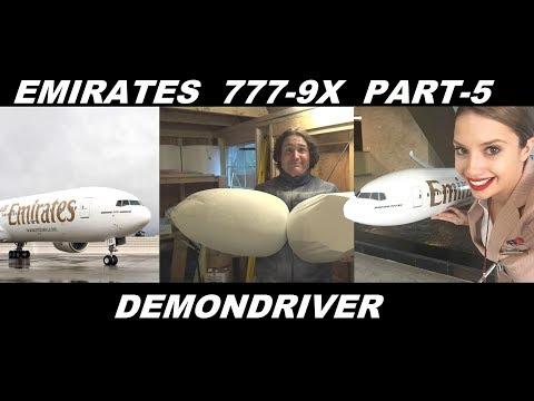 Emirates 777-9X RC Airplane Airliner Build Part-5