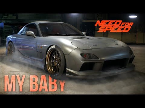 NEED FOR SPEED 2015 GAMEPLAY RX7 Customization