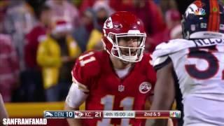 Alex Smith vs Broncos (NFL SNF Week 16 - 2016) - 290 Yards, 2 TDs + INT! | NFL Highlights HD