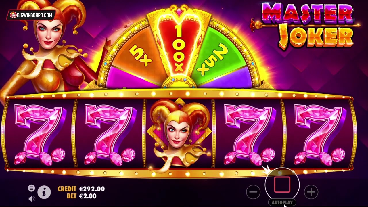 Master Joker Pragmatic Play 10 000x Max Win Youtube