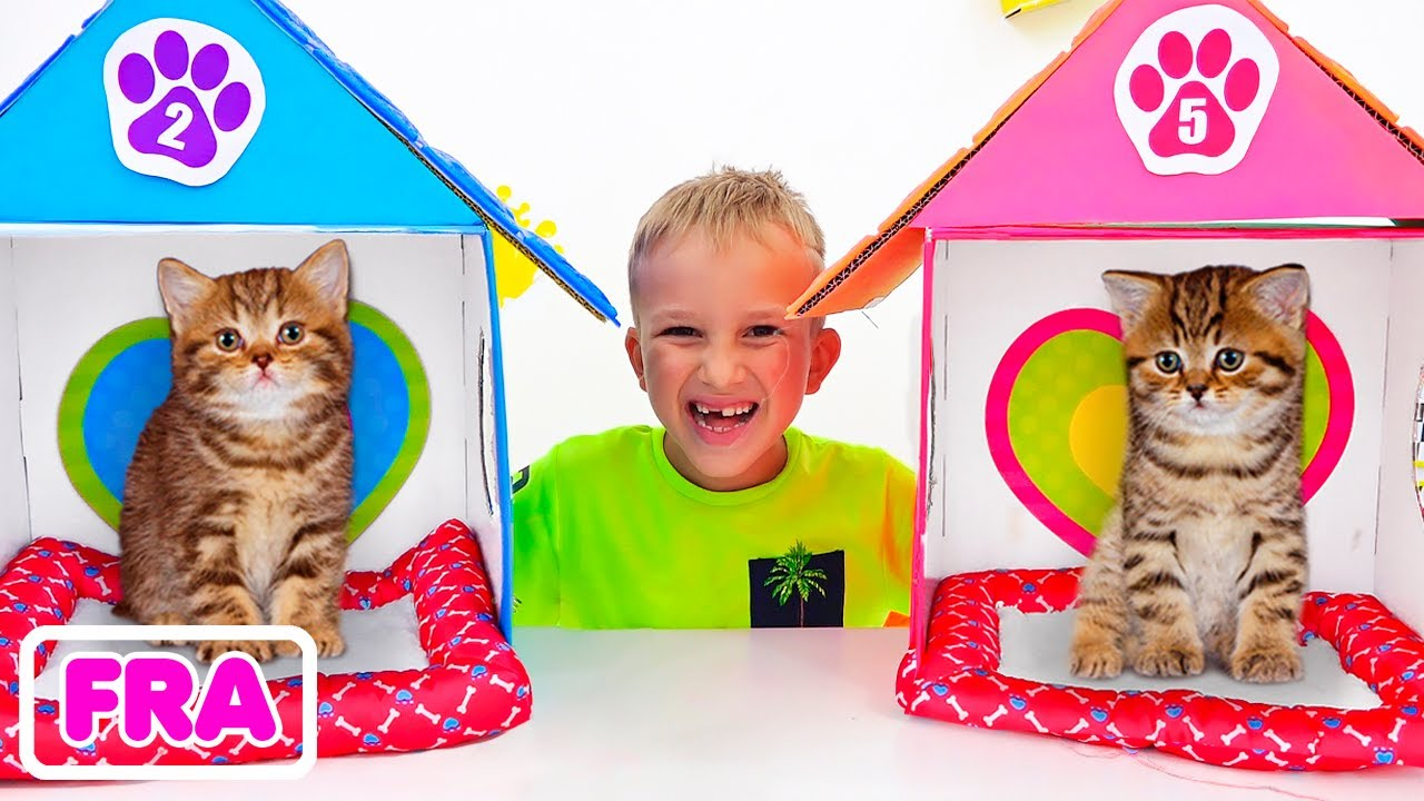 Download Vlad et Niki jouent avec des animaux | Vidéos drôles pour les enfants