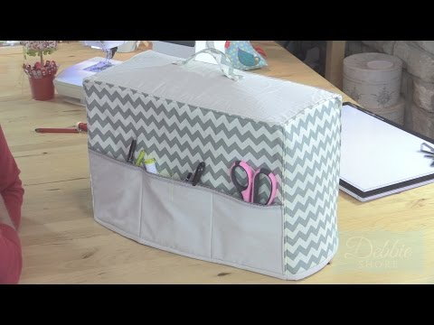Make a sewing machine dust cover! by Debbie Shore