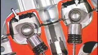 DOHC-motor da twister e tornando por dentro