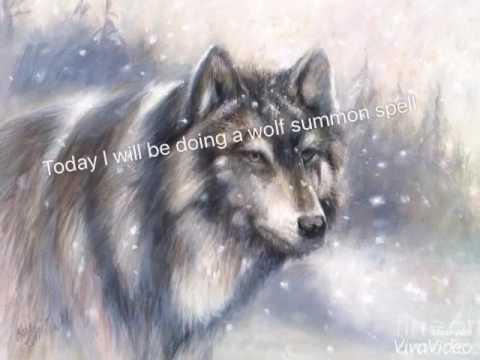 Spell~summon a wolf~spell in desc