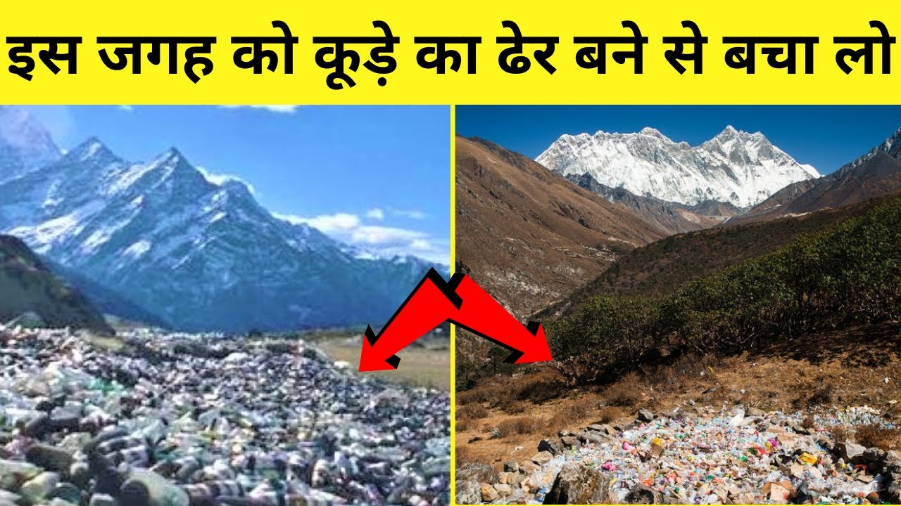#shorts Plastic is destroying nature | आखिर क्यों लोग प्रक्रति को कूड़े का ढेर बनाने में लगे हैं ?