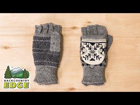 Manzella Women's Snow Star Convertible Gloves