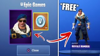 """ROYALE BOMBER"" WITHOUT PS4 AND FREE ON FORTNITE!"
