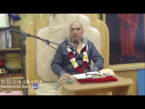 Шримад Бхагаватам 4.23.8 - Ванинатха Васу прабху