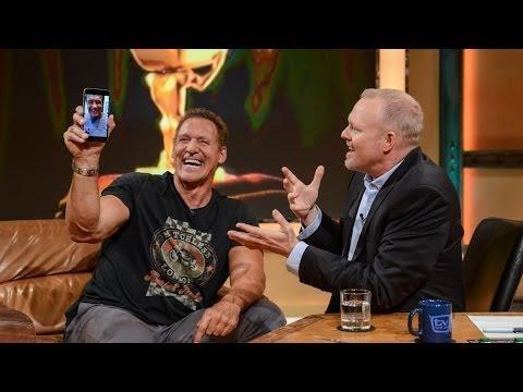 FaceTime mit Arnold Schwarzenegger!  Ste telefoniert