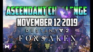 Ascendant Challenge November 12 2019 Solo Guide | Destiny 2 | Corrupted Eggs & Lore Locations