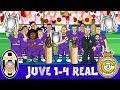 JUVE 1 4 REAL MADRID Real Duodecima Real win the Champions League Parody Goals Highlights