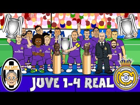 Thumbnail: JUVE 1-4 REAL MADRID! Real Duodecima! Real win the Champions League! (Parody Goals & Highlights)