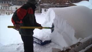 Jahrhundert Schnee in Kartitsch