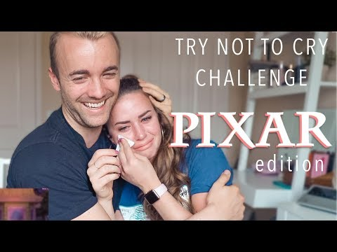 TRY NOT TO CRY CHALLENGE || Pixar Edition
