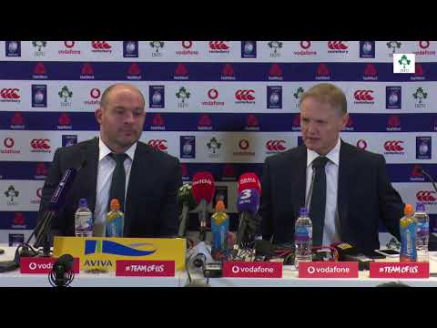 Irish Rugby TV: Post Match Press Conference - Ireland v Wales