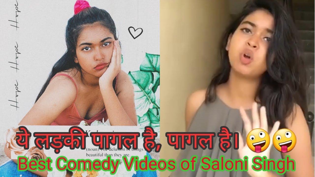 Saloni Singh tik Tok video. New video of Saloni Singh August 2020