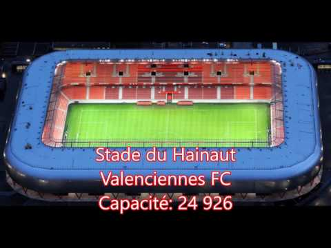 Stades Domino's Ligue 2 / Saison 2017/2018 🏟⚽