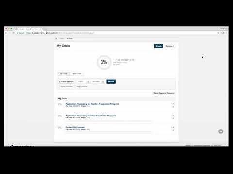 Talent@VCU How to Enter Smart Goals Online Tutorial