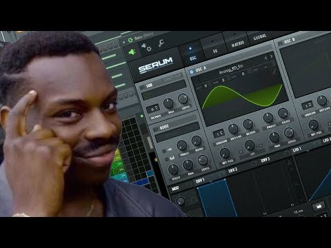 🤔Trying To Create 808's That Slap With Serum