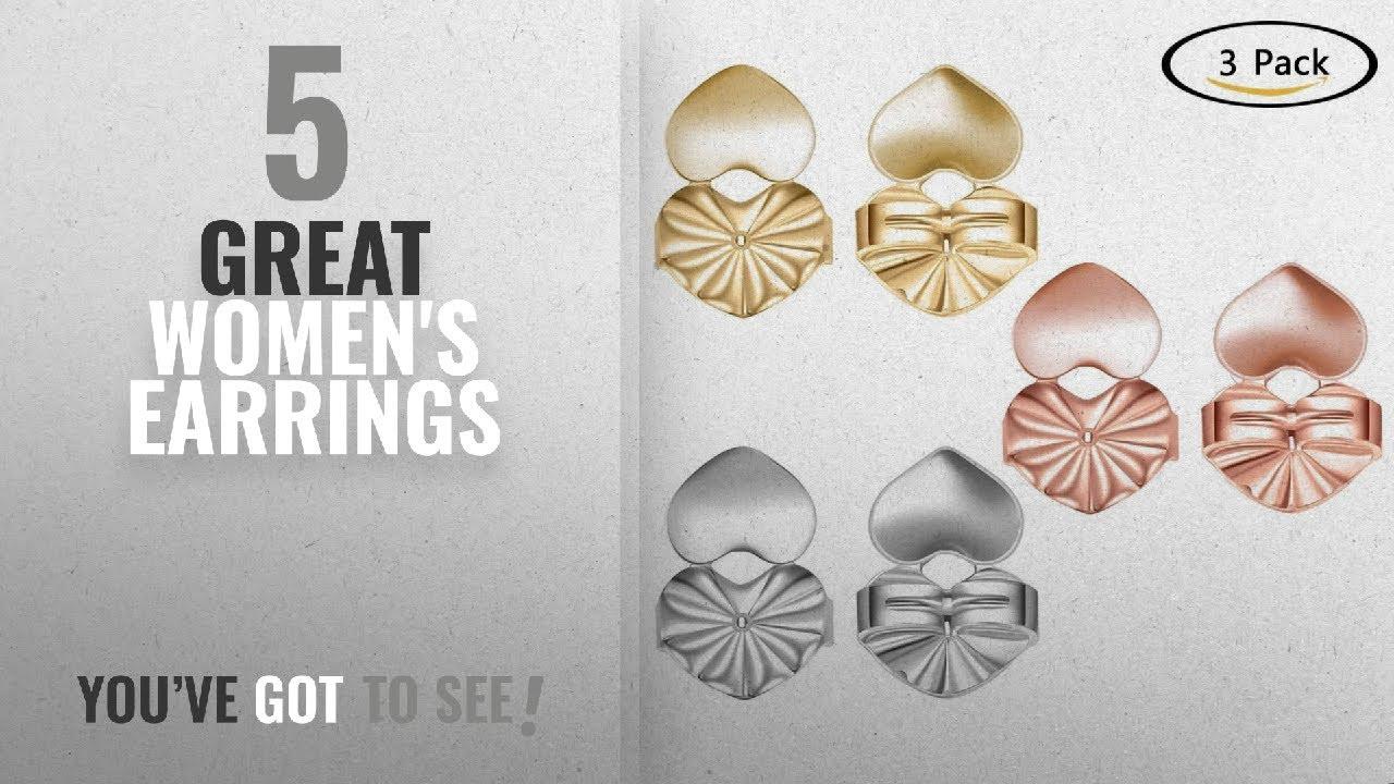 10 Best Earrings Backs For Heavy 2018 Fingertip Wd Earrings Backs