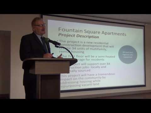 Nina Epstein - Brian Hollenback - Fountain Square Apartments