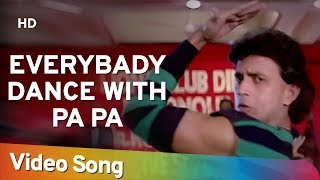Download Everybody Dance With Pa | Dance Dance Song | Mithun Chakraborty | Shakti Kapoor | Bappi Lahiri Mp3 and Videos