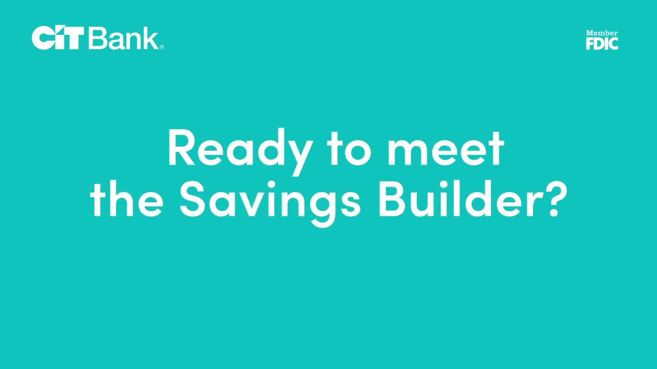 Savings Account | Tiered Interest Rates | CIT Bank