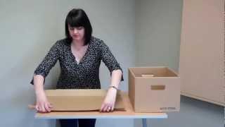 Assembly Instructions: Acid-Free Record Storage Carton