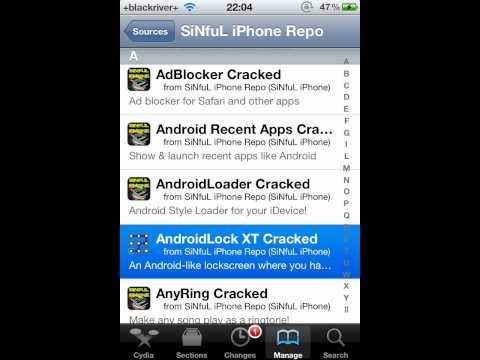 How To Install Android Lock XT For FREE